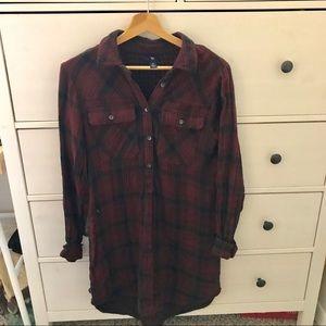 GAP flannel dress